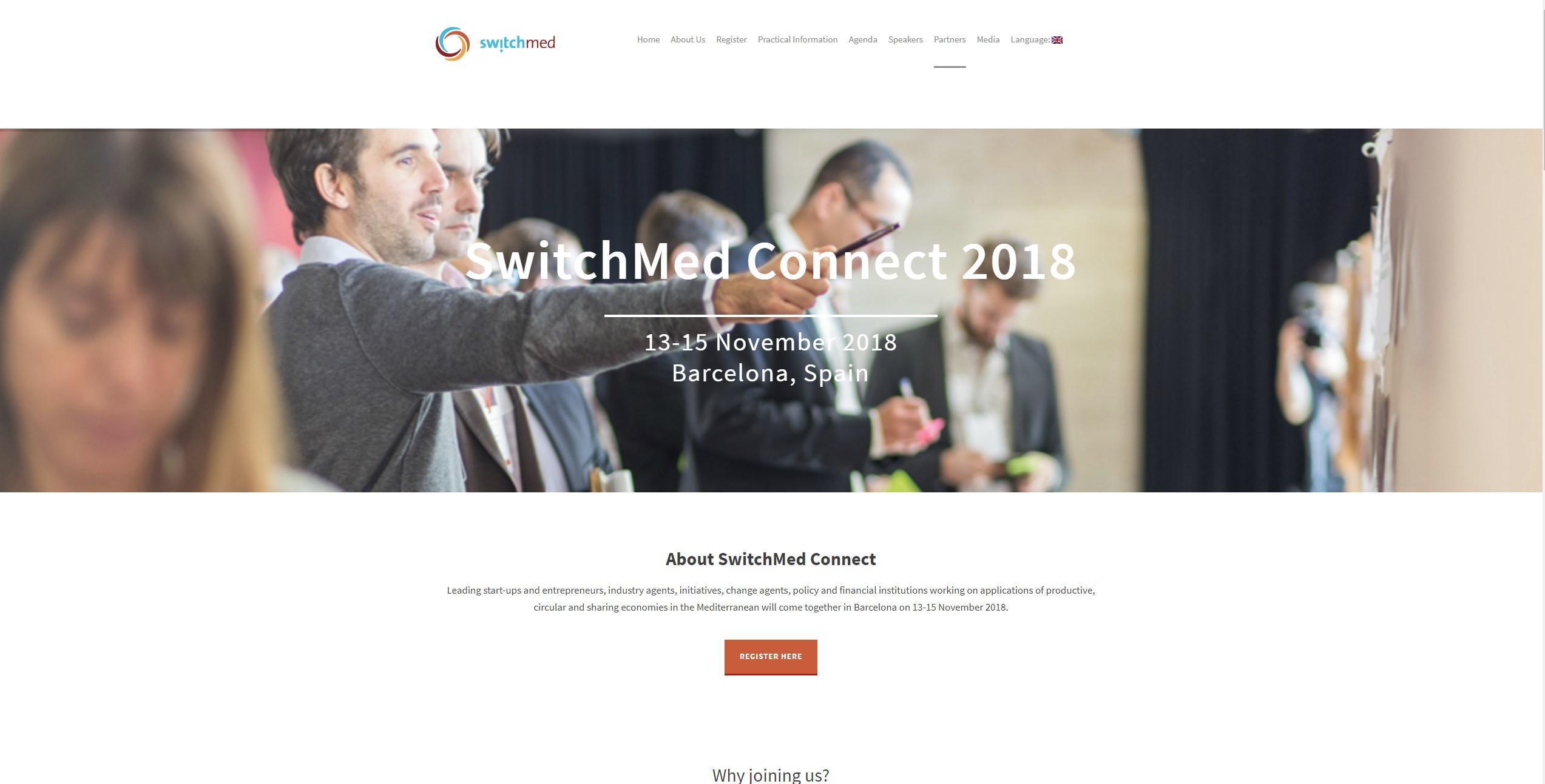SwitchMed Connect - Diseño de Página Web